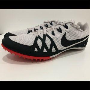 Nike track clear spike sneakers